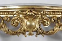 19th Century Gilt Console Table with Marble Top (8 of 17)