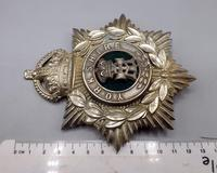 Other Ranks Helmet Plate - 1902-1914 - Alexandra Princess of Wales Own 'Yorkshire Regiment' (4 of 5)