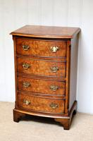 Small Proportioned Walnut Chest of Drawers (10 of 10)