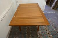 Blonde Mahogany Cottage Draw Leaf Table (5 of 8)
