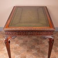 Superb Quality Mahogany Chippendale Design Writing Table (18 of 23)