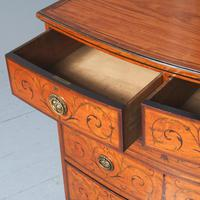 Inlaid Satinwood Chest of Drawers by S & H Jewells (9 of 14)