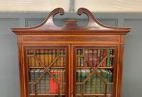 Edwardian Inlaid Mahogany Secretaire Bookcase (15 of 21)