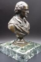 Well Modelled Late 19th Century Desk Bronze of William Shakespeare (2 of 5)