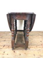 18th Century Antique Oak Gateleg Table (8 of 10)