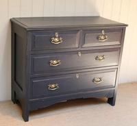 Pitch Pine Painted Chest of Drawers (7 of 11)