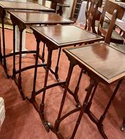 Lovely Edwardian Nest of Quartetto Tables (5 of 6)