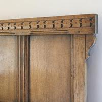 Country Style Matching Pair of Twin Single Oak Beds (9 of 9)