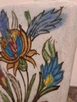 18th Century Antique Iznik Stoneware Vase Flask Bottle Persian Ottoman Islamic (5 of 12)