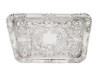 Antique Edwardian Sterling Silver Dressing Tray  1905 (2 of 8)