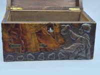 Antique Russian Wood Box with Basma Abramtsevo - Very Large (8 of 13)