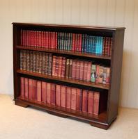 Large Oak Open Bookcase (7 of 9)