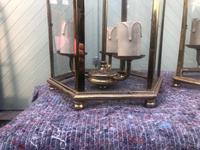 Pair English Glazed Brass Lanterns (8 of 9)