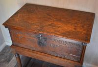 Italian Renaissance Cedar Box on Later Stand (5 of 13)