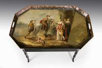 Mid-19th Century Tole Tray Table (3 of 5)