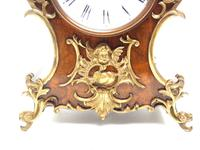 Magnificent French 8-day Mantle Clock Walnut Boulle Striking Mantle Clock (5 of 11)