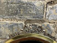 Small Round Brass Mirror (2 of 4)
