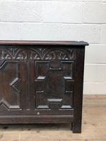 Antique Oak Coffer Blanket Box (10 of 11)