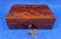 Georgian Flame Mahogany Box c.1820 (5 of 10)