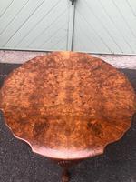 Antique Burr Walnut Coffee Table (3 of 5)