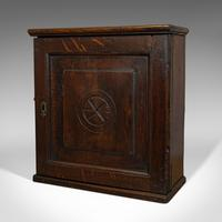 Antique Tea Cabinet, English, Oak, Spice, Apothecary Case, Georgia  c.1800 (8 of 12)