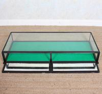 Counter Top Shop Display Cabinet Glazed Ebonised 19th Century Glass (9 of 14)