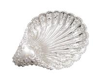 Antique Edwardian Sterling Silver Shell Dish 1905 (6 of 10)