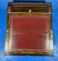 William IV Rosewood Lap Desk (11 of 18)