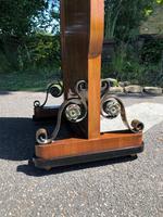 Antique Walnut Cheval  Dressing Mirror (6 of 8)