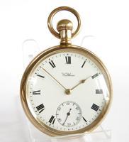 Antique Waltham Traveler Pocket Watch, 1907 (2 of 5)
