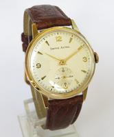 Gents 9ct Gold Smiths Astral Wrist Watch (2 of 5)