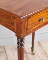 Regency Mahogany Work Table (5 of 6)