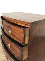 Georgian Mahogany Bow Front Chest of Drawers (8 of 16)