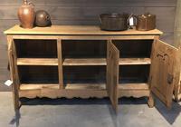 French Bleached Oak Dresser Base (10 of 12)