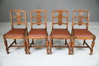 1930s Oak Dining Chairs (4 of 11)