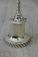 Vintage Sold Brass Door Stop in the 19th Century Style (2 of 6)