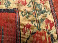 Superbly Colourful Antique Rahra Rug, Kilim Rug (9 of 13)