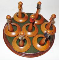 Victorian Table Quoits Game