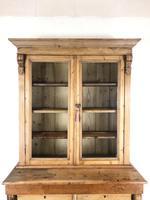 Antique Victorian Pine Dresser with Glazed Top (8 of 13)