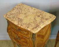 Good Pair Of French Inlaid Bedside Cabinets With Ormolu Mounts (4 of 7)