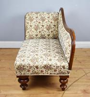 Small Victorian Mahogany Chaise Longue (5 of 8)