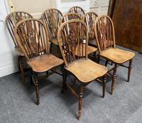 Harlequin Set of 8 18th Century Windsor Dining Chairs (11 of 15)