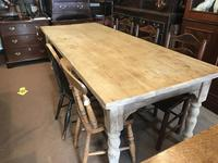 Very Good Late Victorian Antique Pine Table (14 of 14)
