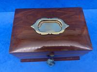 Victorian Walnut Jewellery Box c.1900 (13 of 13)