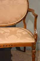 Satinwood Painted Sofa From 19th Century (3 of 6)