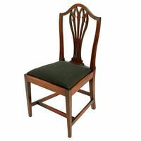 Set of Eight Hepplewhite Chairs (7 of 9)