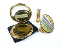 Rare Ship Themed Stratton Compact Lipstick Set (4 of 8)