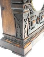 Antique English Twin Fusee Bracket Clock by Carter Cornhill London 8 Day Fusee Striking Mantel Clock (9 of 12)
