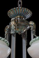 Early 20th Century Eight Arm Chandelier (3 of 6)