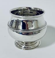 Antique Solid Sterling Silver Sugar Bowl by Walker & Hall (3 of 12)